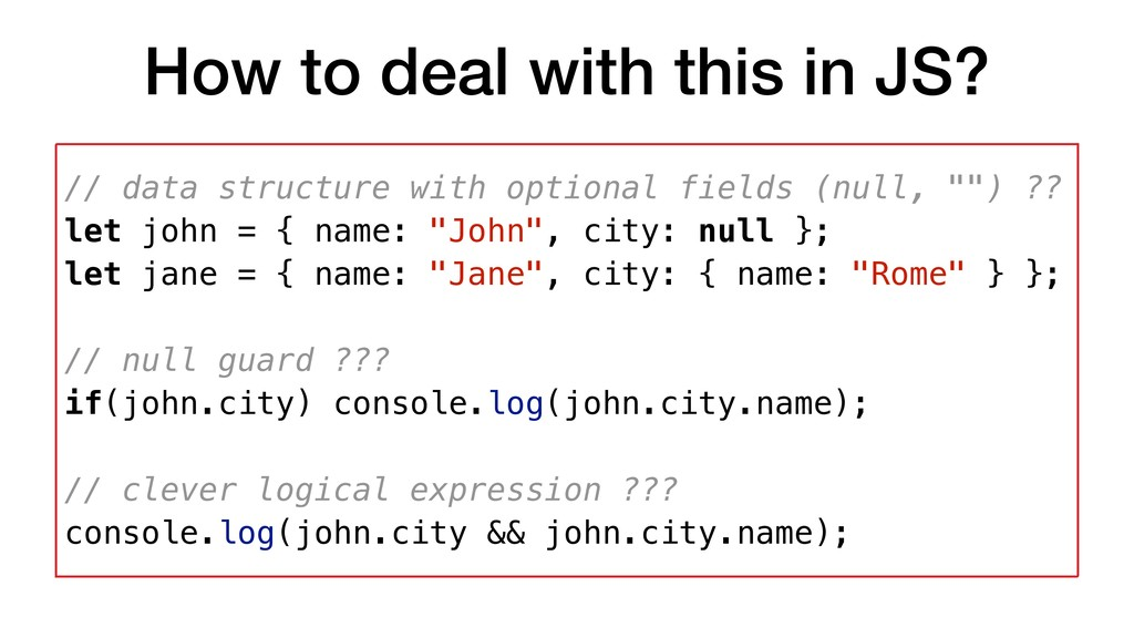 How to deal with this in JS? // data structure ...