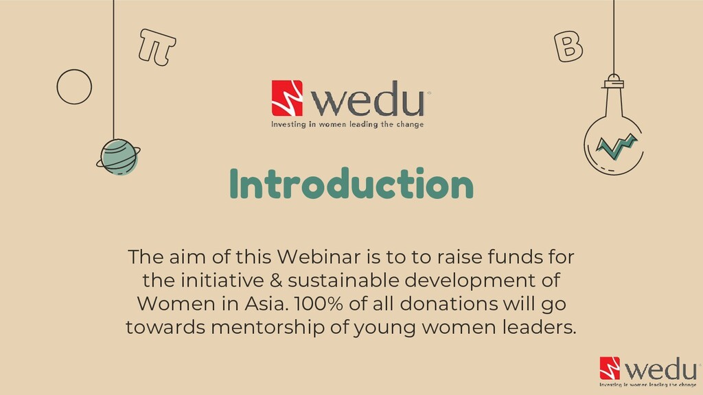 Introduction The aim of this Webinar is to to r...