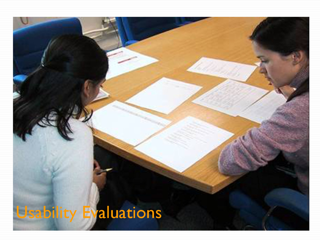 Usability Evaluations