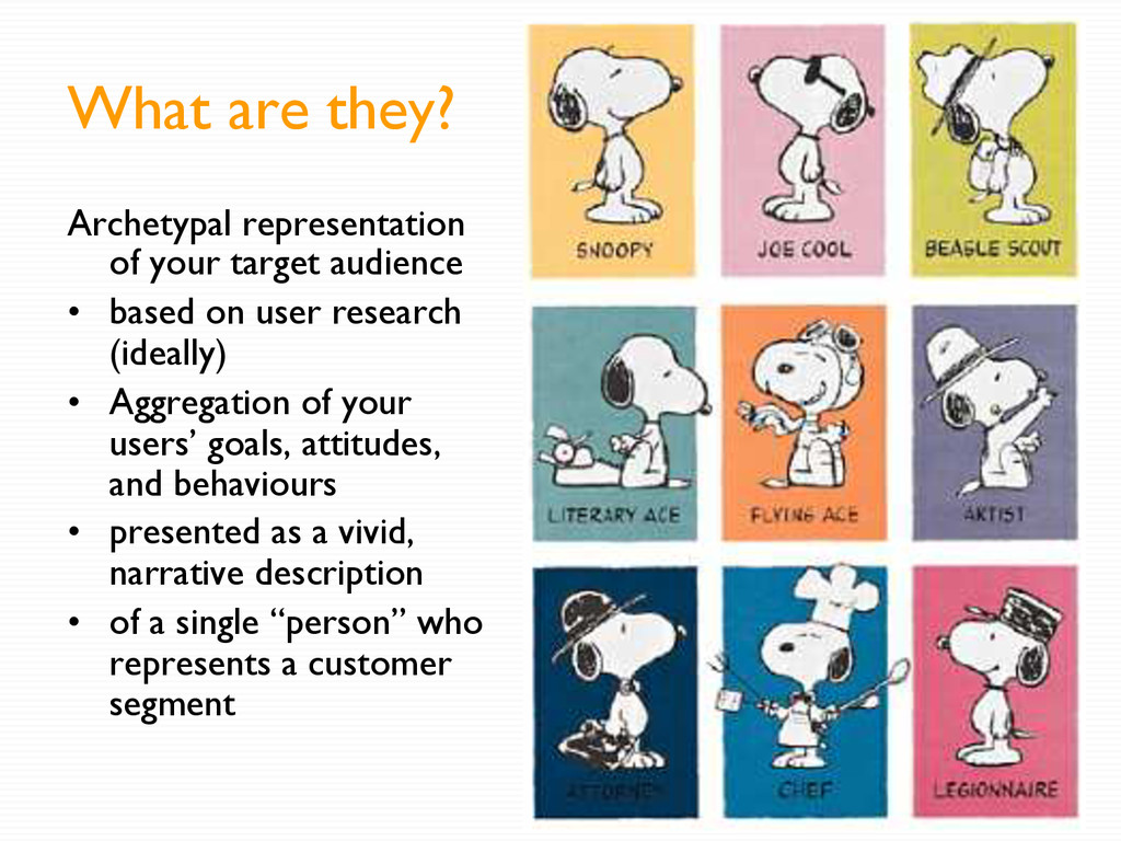What are they? Archetypal representation of you...