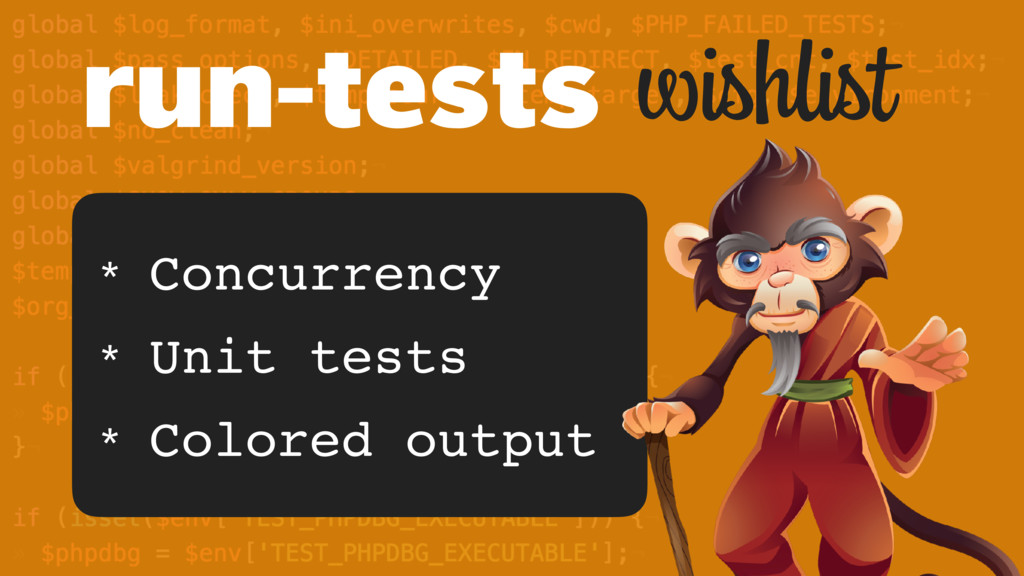 wishlist * Concurrency * Unit tests * Colored o...