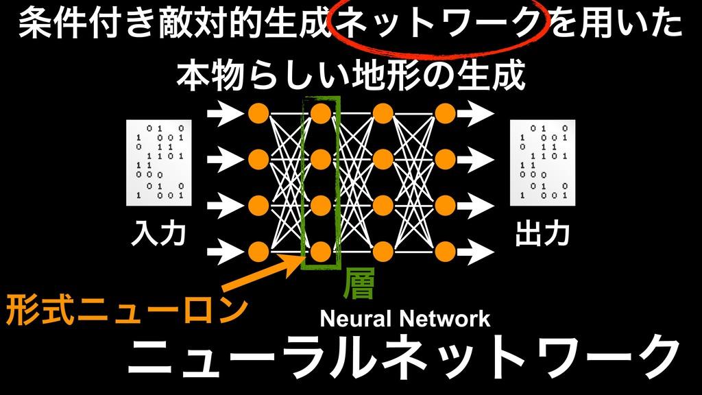 χϡʔϥϧωοτϫʔΫ ೖྗ ग़ྗ Neural Network ͖݅ఢରతੜωοτϫʔ...