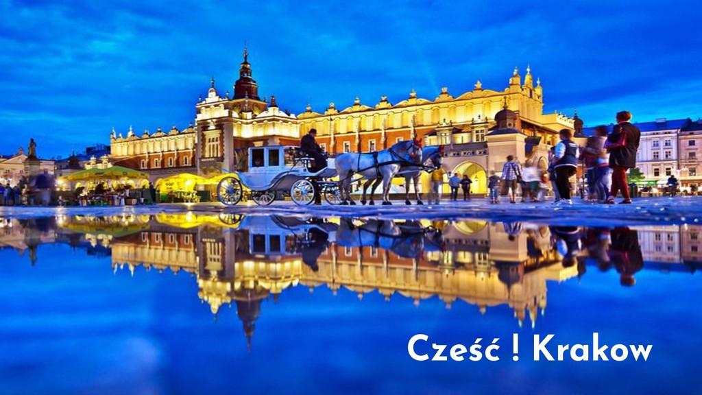 Cześć ! Krakow