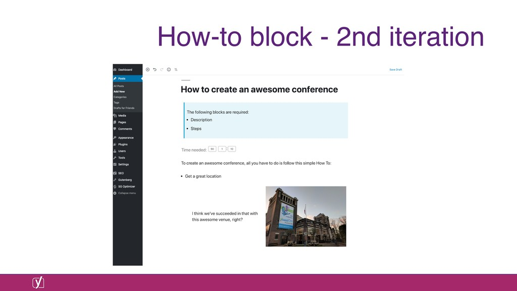 How-to block - 2nd iteration
