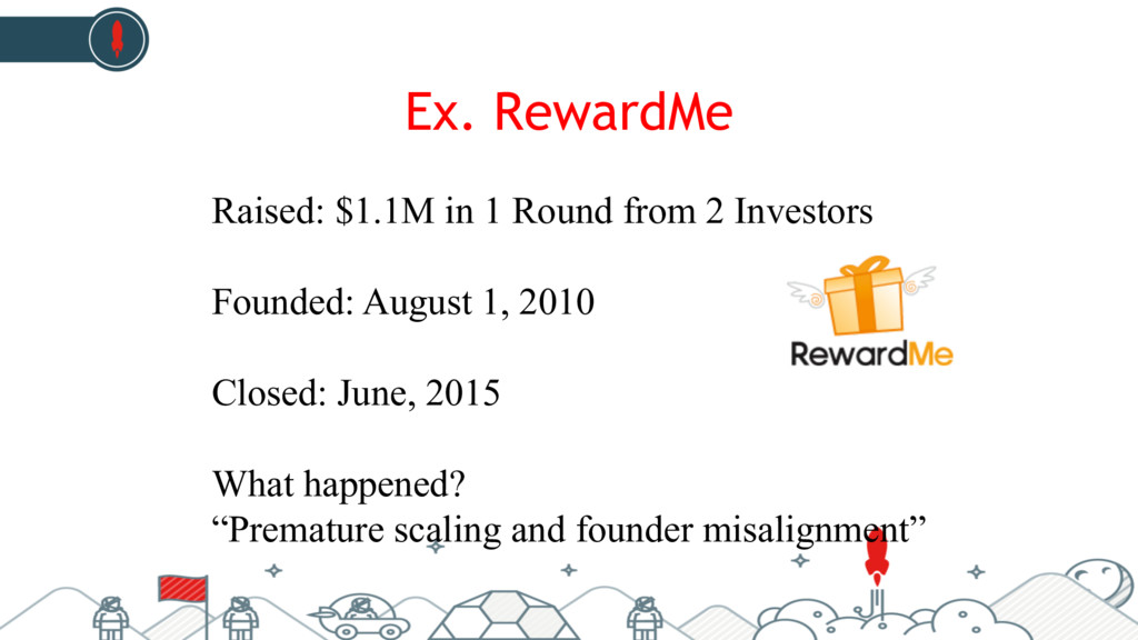 Ex. RewardMe Raised: $1.1M in 1 Round from 2 In...