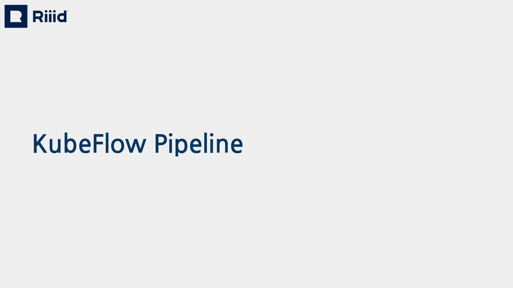 KubeFlow Pipeline