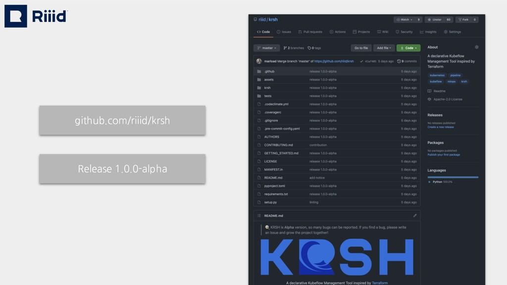 github.com/riiid/krsh Release 1.0.0-alpha