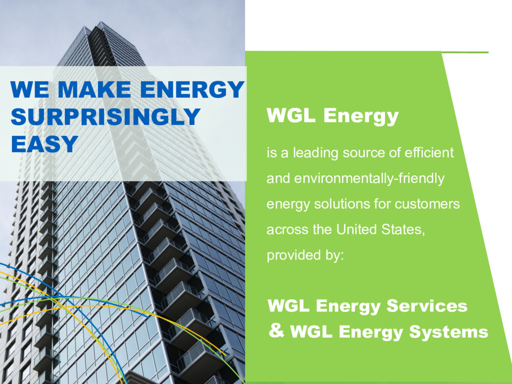 WGL Energy is a leading source of efficient and...