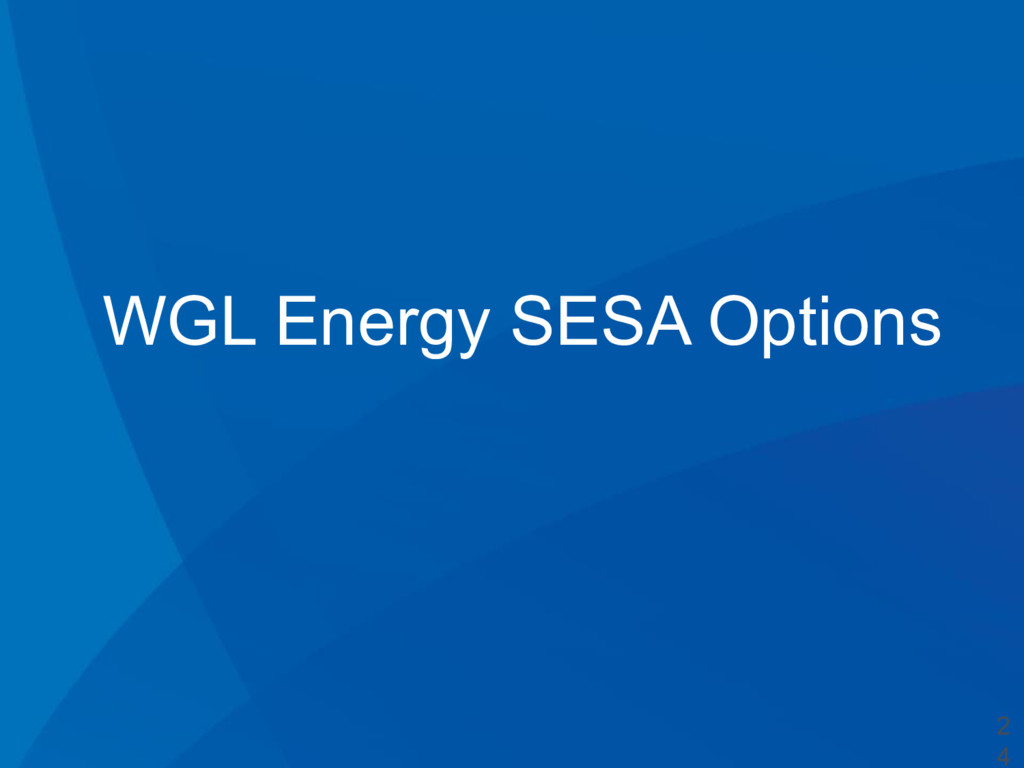 WGL Energy SESA Options 2 4