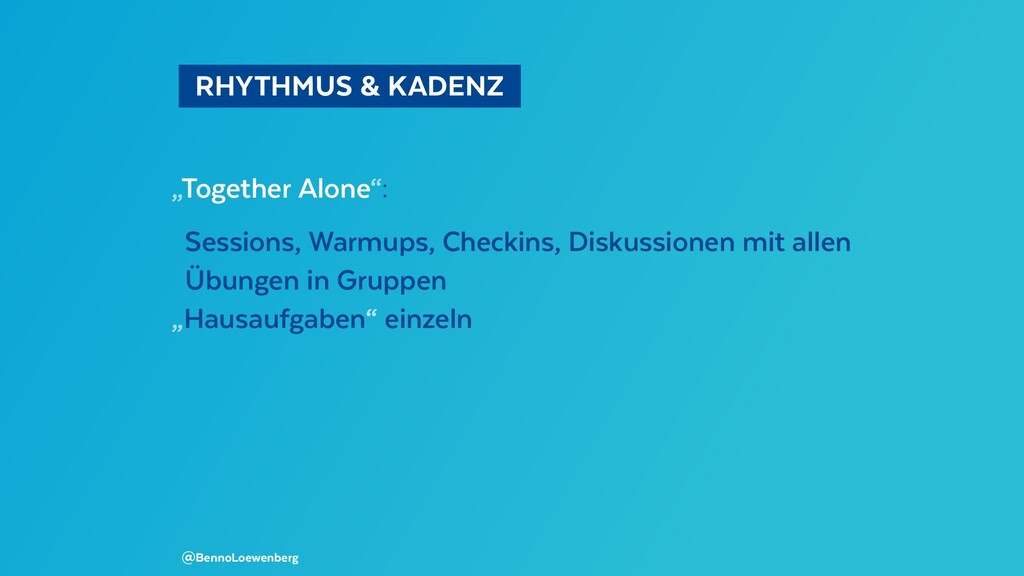 "RHYTHMUS & KADENZ  ""Together Alone"": Sessions..."