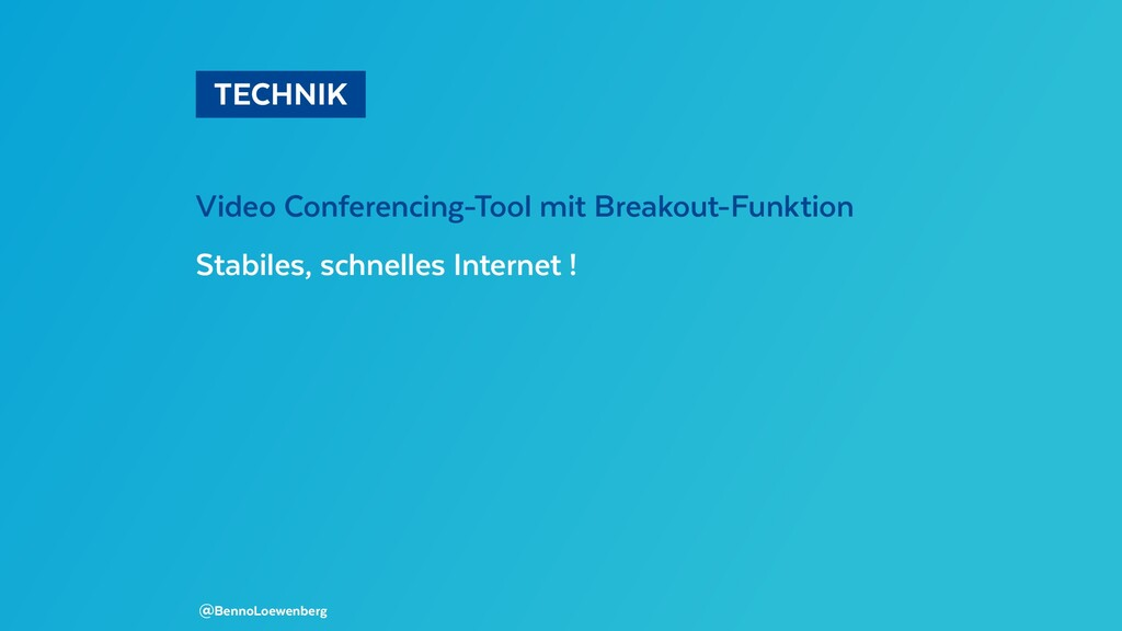 TECHNIK Video Conferencing-Tool mit Breakout-...