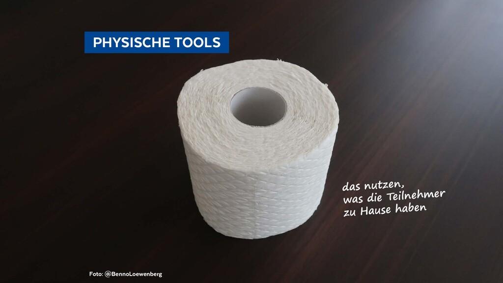 PHYSISCHE TOOLS Foto: @BennoLoewenberg das n...