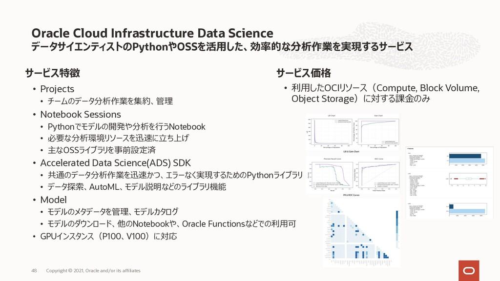 データサイエンティストのPythonやOSSを活⽤した、効率的な分析作業を実現するサービス サ...