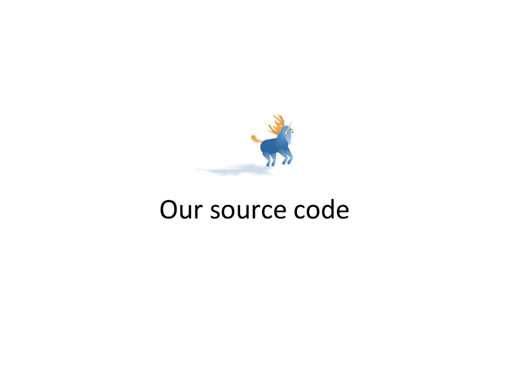 Our source code