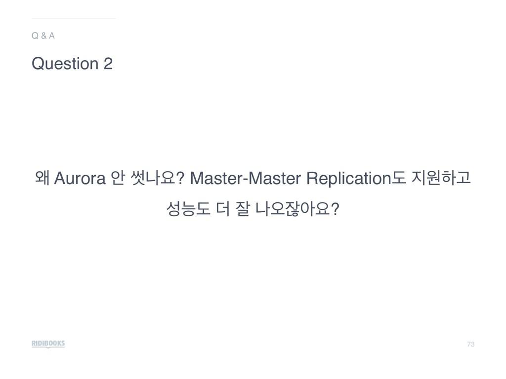 73 ৵ Aurora উ 㛣աਃ? Master-Master Replicationب ...