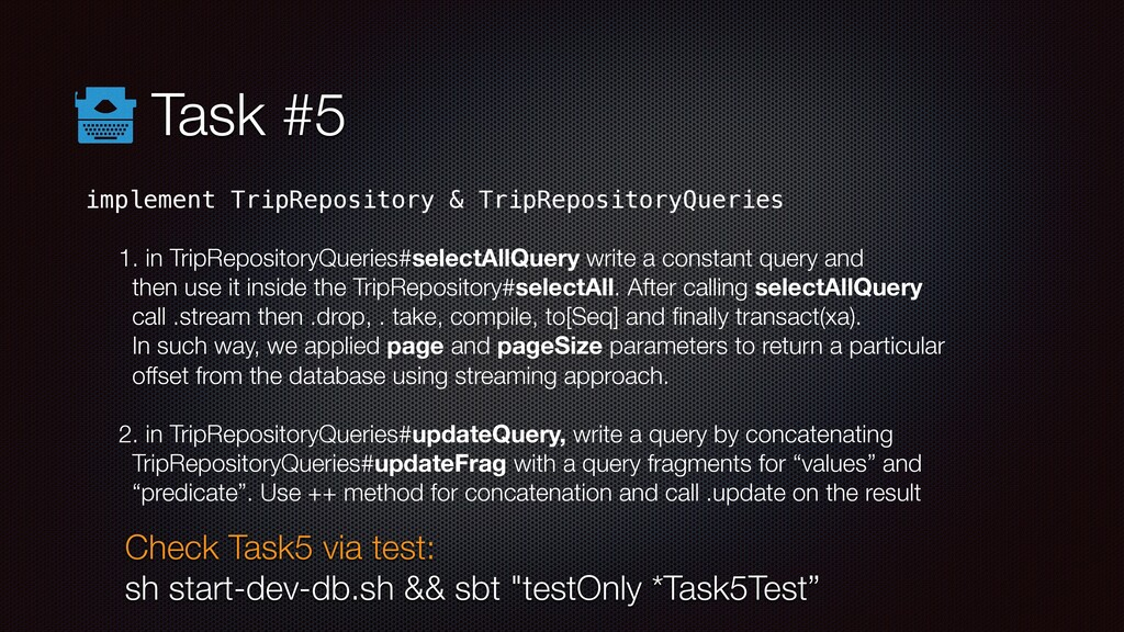 Task #5 implement TripRepository & TripReposito...