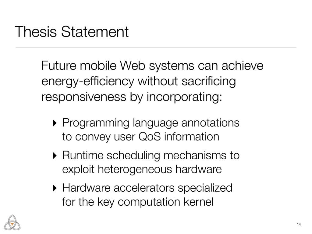Thesis Statement 14 ▸ Programming language anno...