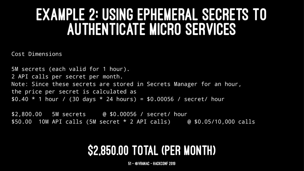 EXAMPLE 2: USING EPHEMERAL SECRETS TO AUTHENTIC...