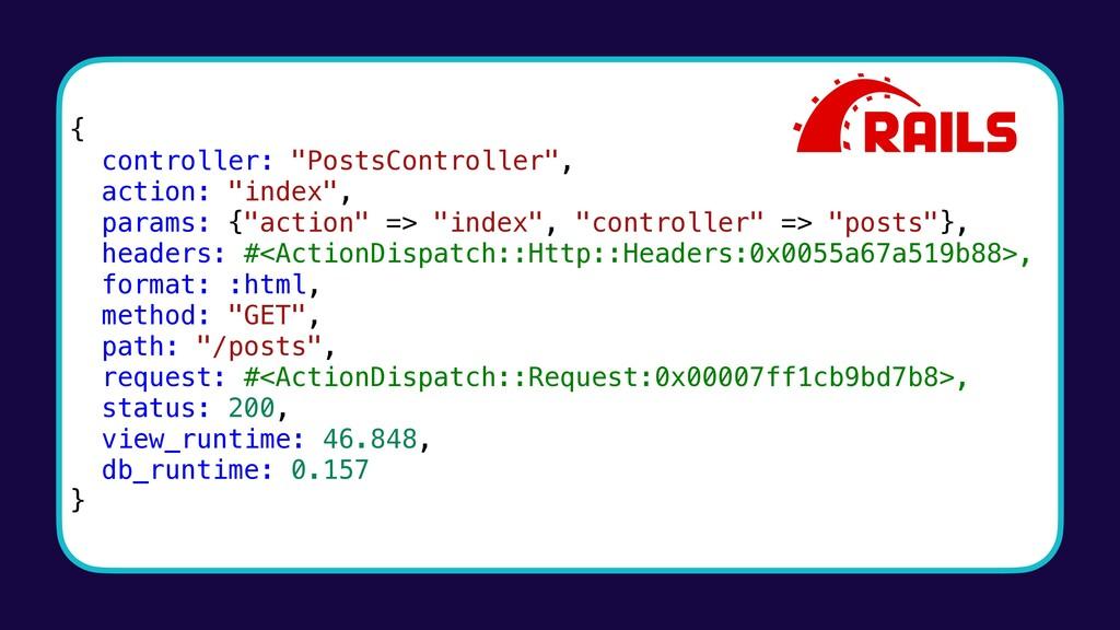 "{ controller: ""PostsController"", action: ""index..."