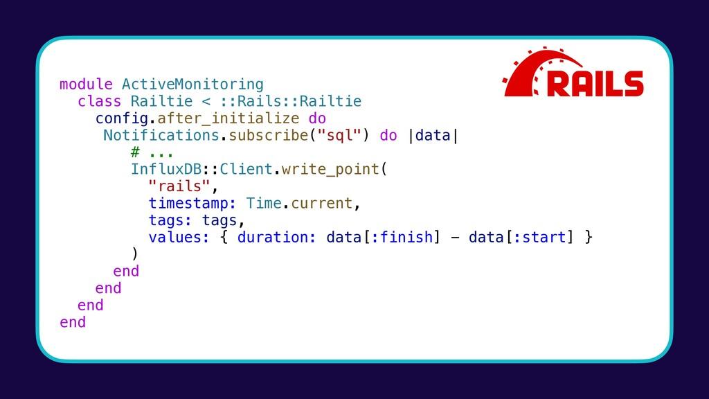module ActiveMonitoring class Railtie < ::Rails...