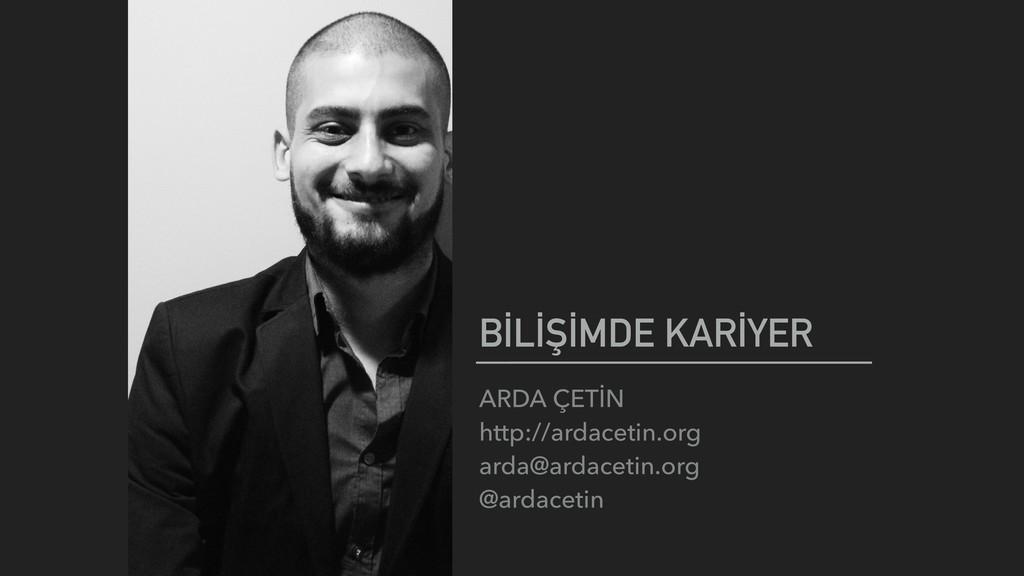 ARDA ÇETİN http://ardacetin.org arda@ardaceti...