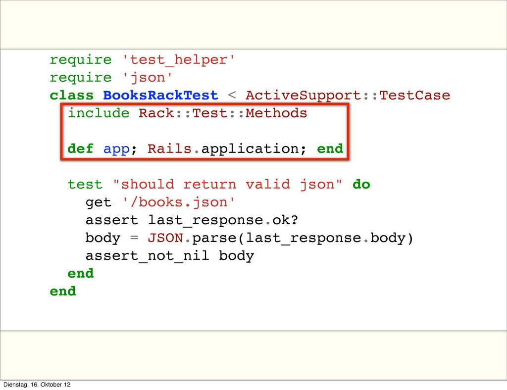 require 'test_helper' require 'json' class Book...