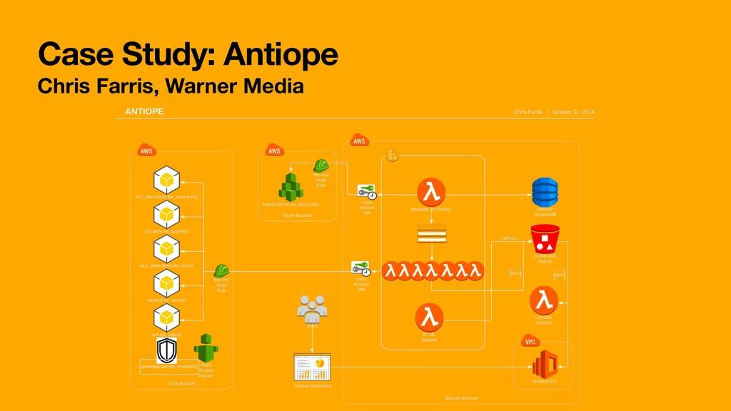 Case Study: Antiope Chris Farris, Warner Media