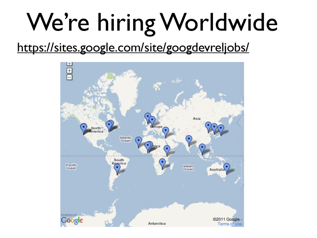 We're hiring Worldwide https://sites.google.com...