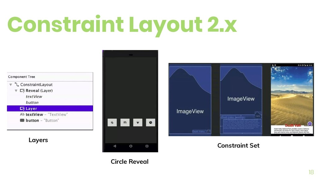 Constraint Layout 2.x 18 Layers Circle Reveal C...