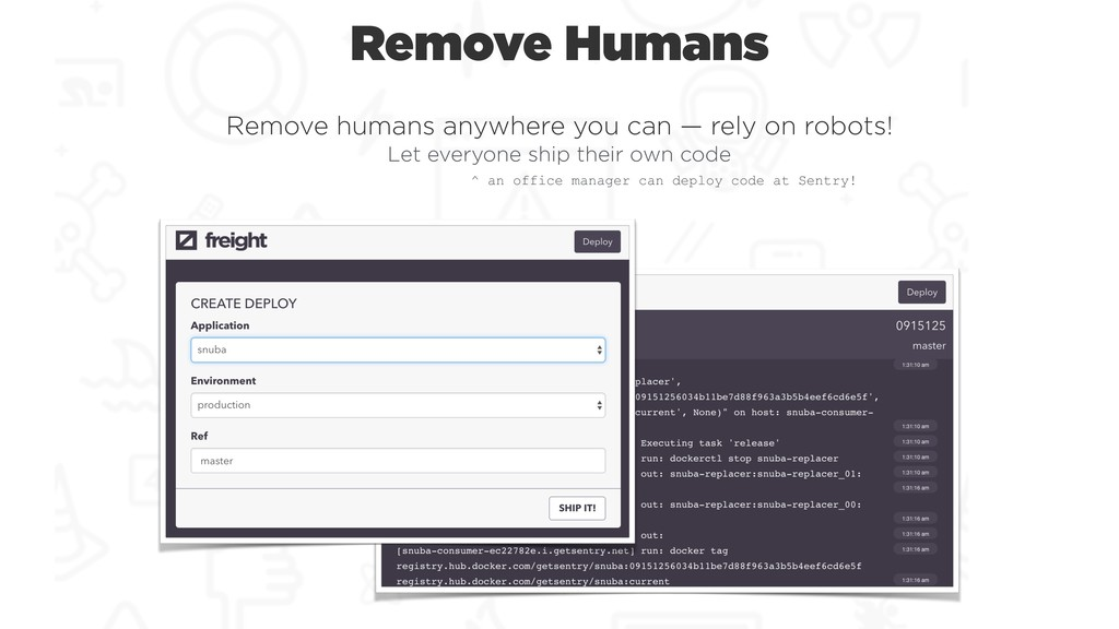 Remove Humans Remove humans anywhere you can — ...