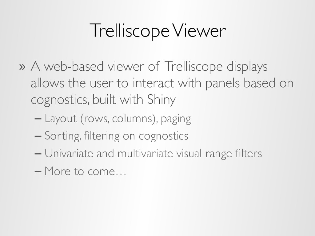 Trelliscope Viewer » A web-based viewer of Tre...