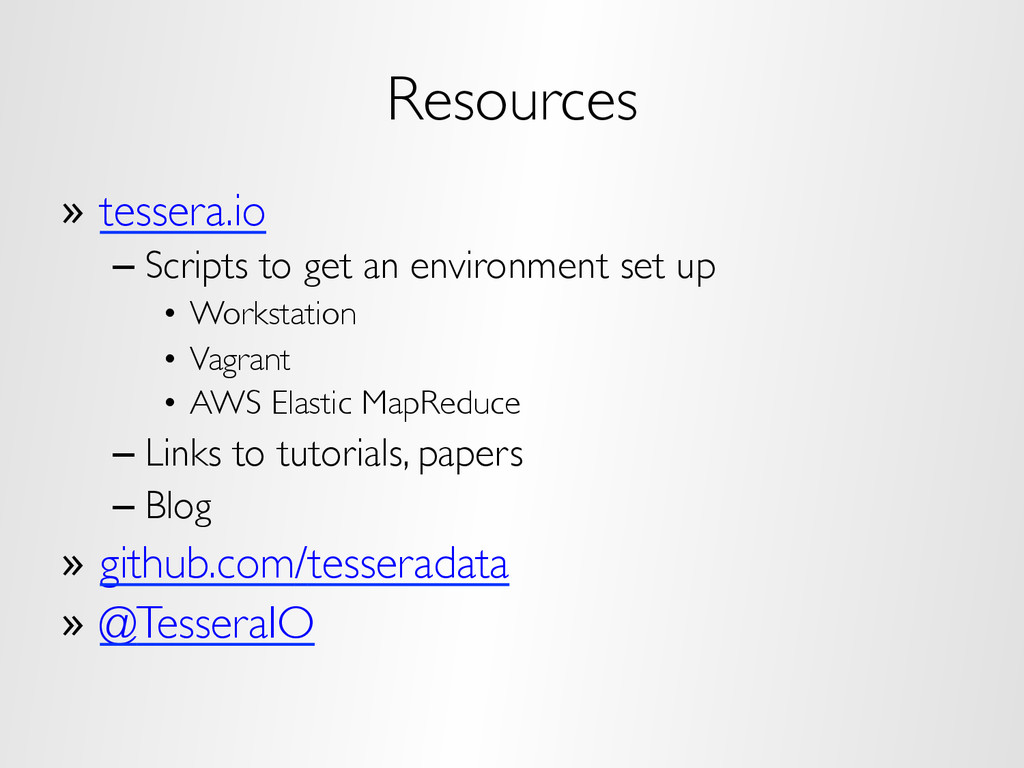 Resources »  tessera.io – Scripts to get an env...