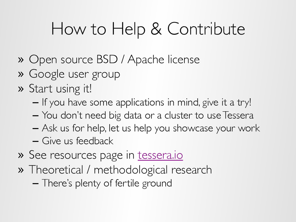 How to Help & Contribute »  Open source BSD / A...