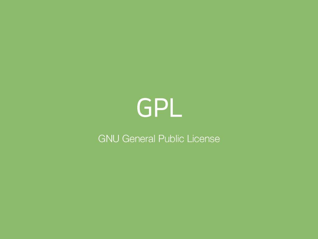 (1- GNU General Public License