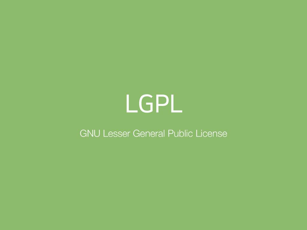 -(1- GNU Lesser General Public License