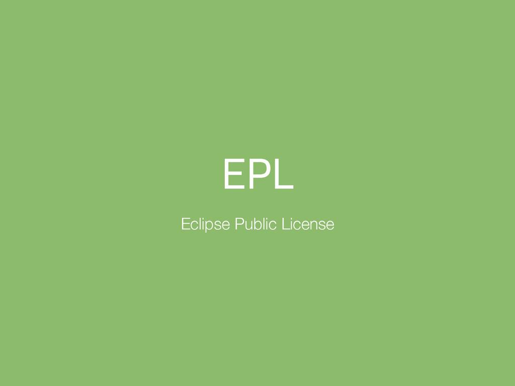 &1- Eclipse Public License