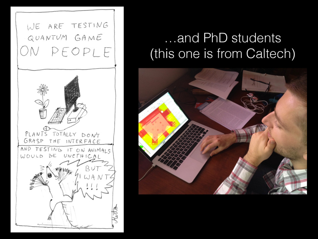…and PhD students (this one is from Caltech)