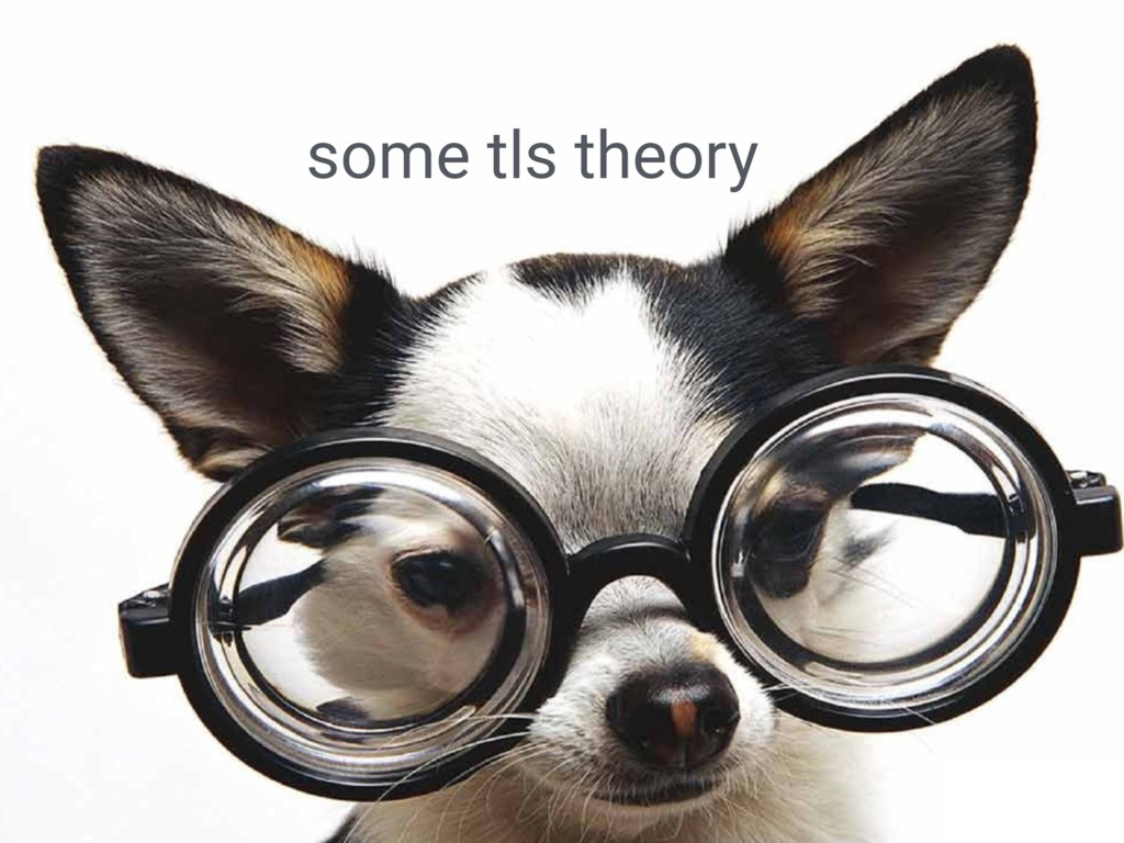 some tls theory