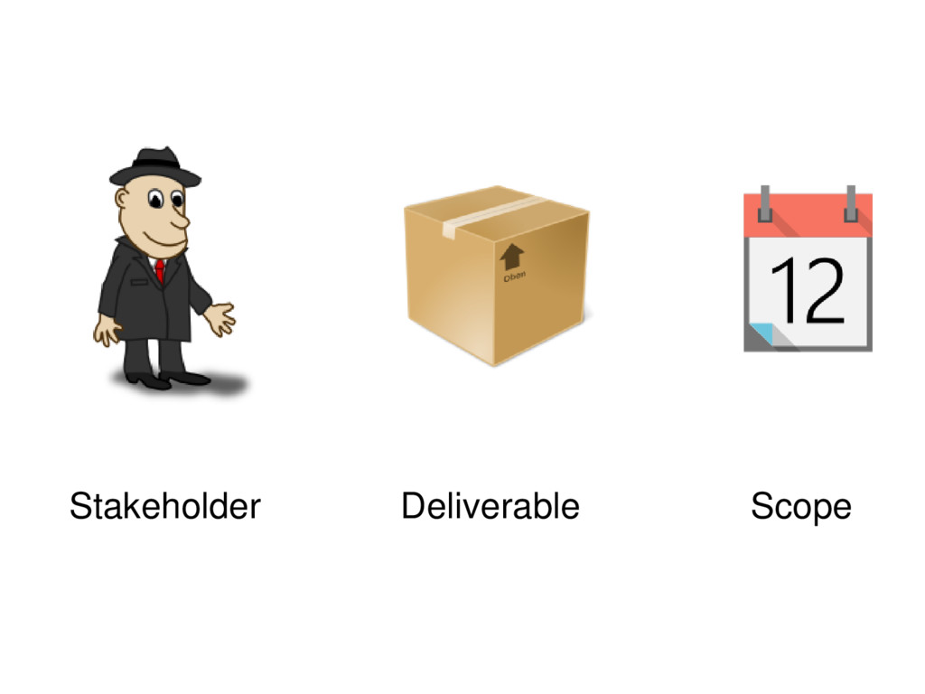 Stakeholder Deliverable Scope