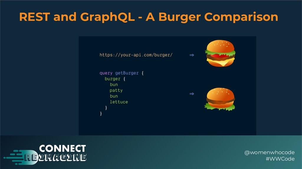 REST and GraphQL - A Burger Comparison @womenwh...