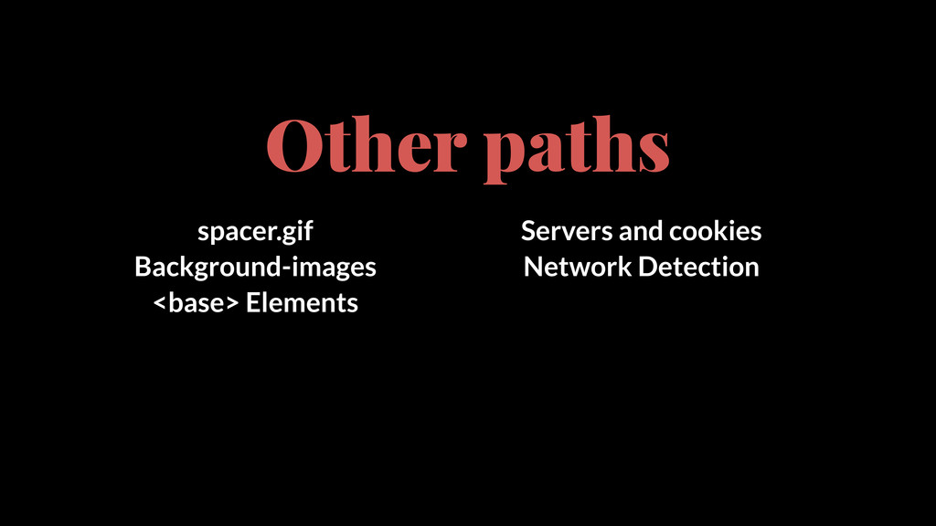 Other paths spacer.gif Background-images <base>...