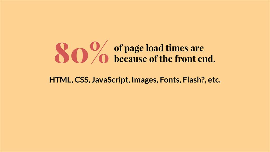 HTML, CSS, JavaScript, Images, Fonts, Flash?, e...