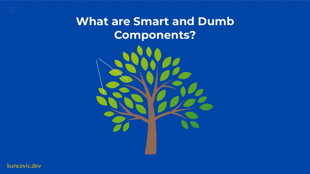 kuncevic.dev  What are Smart and Dumb Component...