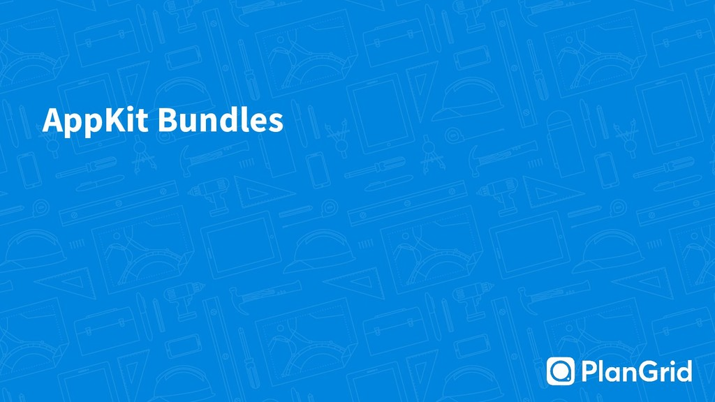 AppKit Bundles