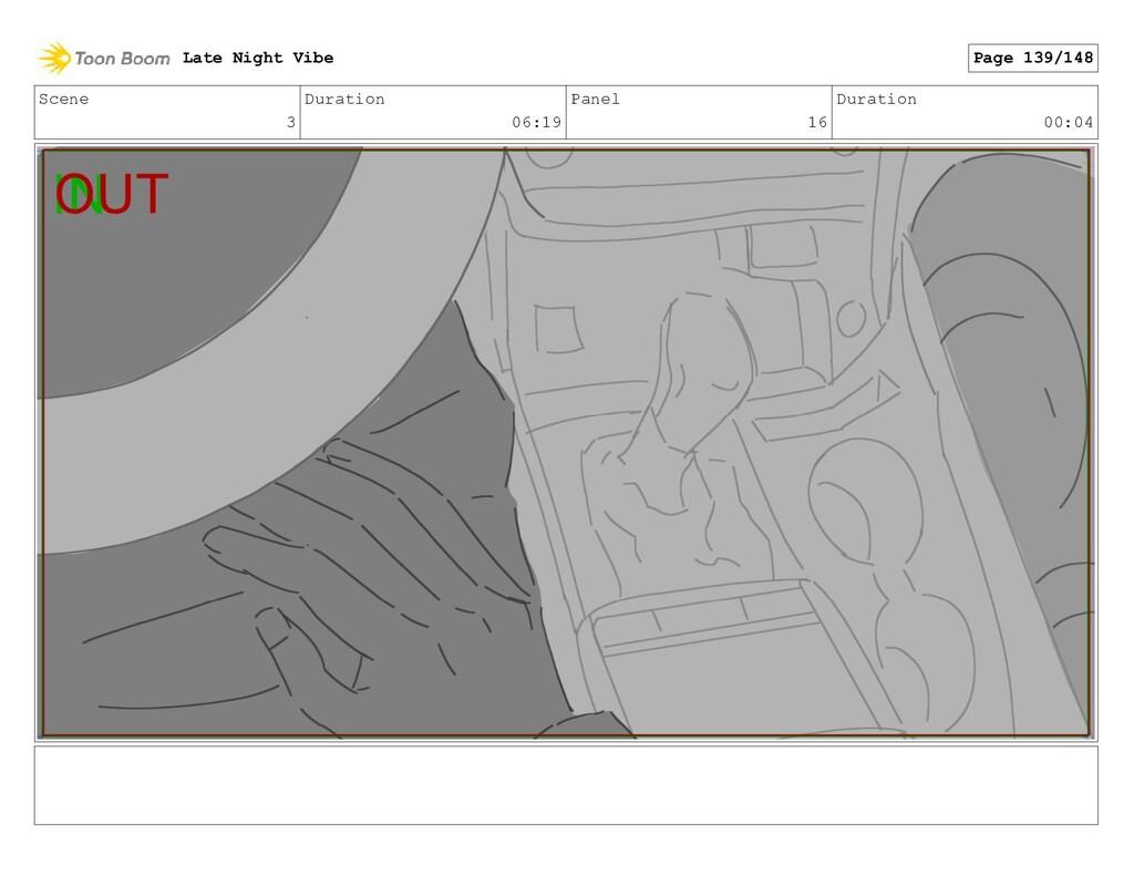 Scene 3 Duration 06:19 Panel 16 Duration 00:04 ...