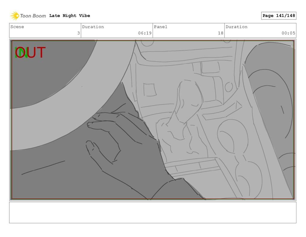 Scene 3 Duration 06:19 Panel 18 Duration 00:05 ...