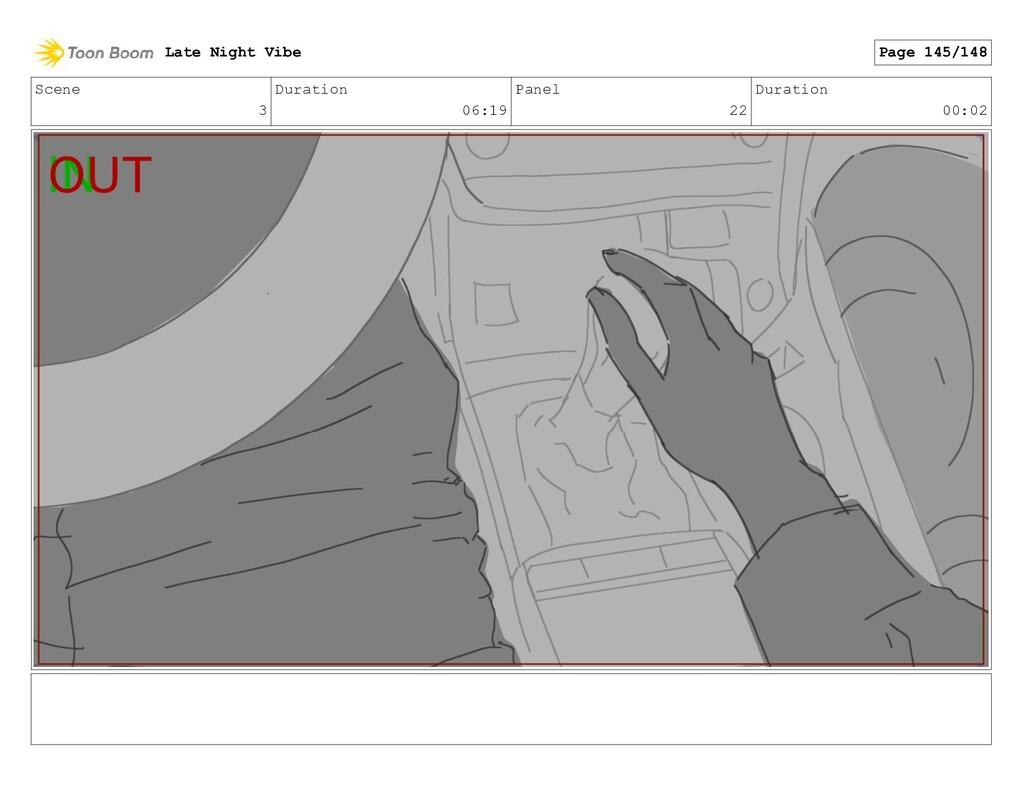 Scene 3 Duration 06:19 Panel 22 Duration 00:02 ...