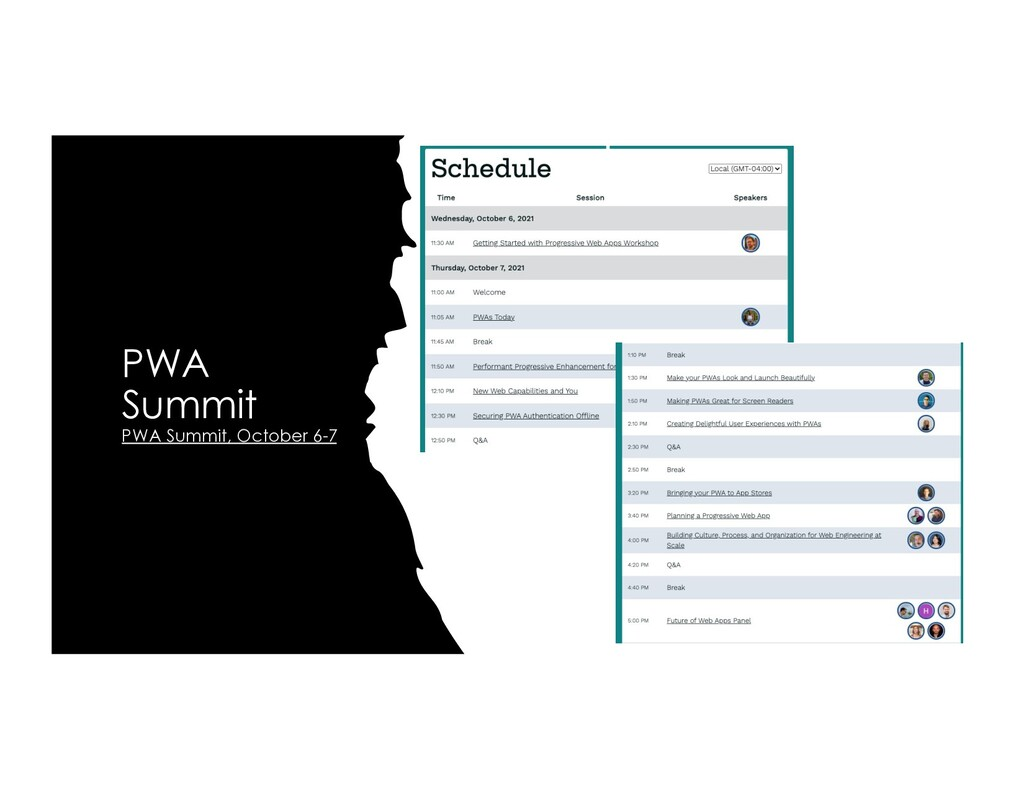PWA Summit PWA Summit, October 6-7