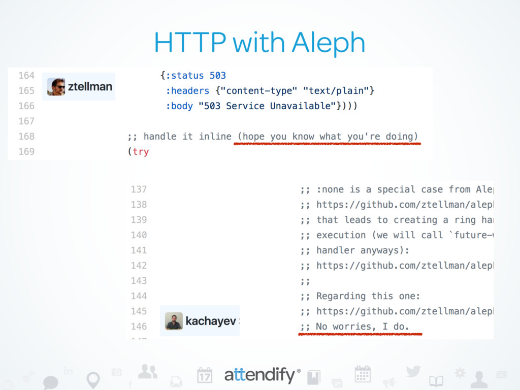 HTTP with Aleph