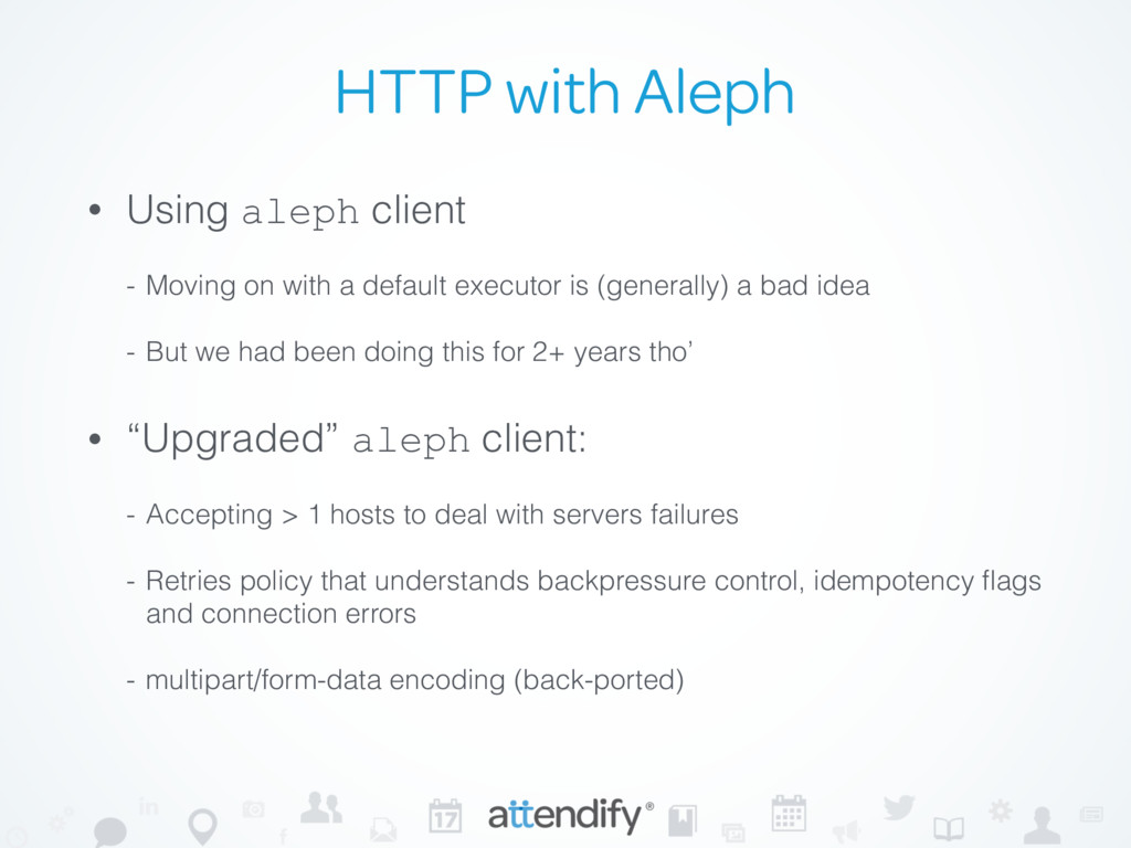 HTTP with Aleph • Using aleph client - Moving o...